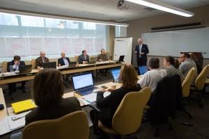Raul Leads a Strategic Planning Workshop